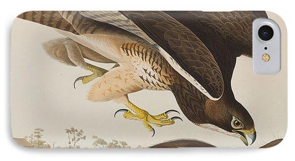 The Common Buzzard IPhone 7 Case by John James Audubon