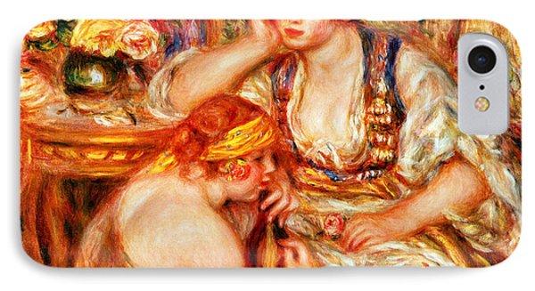 The Concert Phone Case by Pierre Auguste Renoir