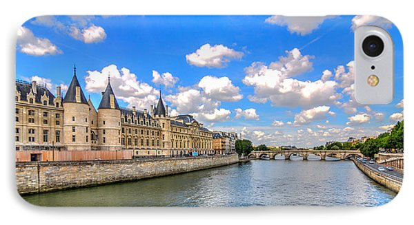 The Conciergerie On The Seine IPhone Case by Tim Stanley