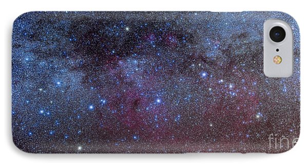 The Constellations Of Puppis And Vela IPhone Case by Alan Dyer
