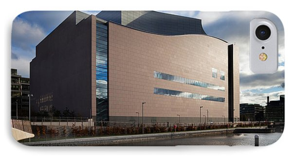 The Convention Centre Dublin , Dublin IPhone Case by Panoramic Images