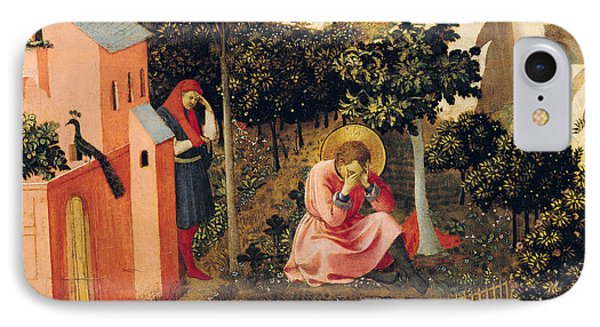 The Conversion Of Saint Augustine IPhone Case by Fra Angelico