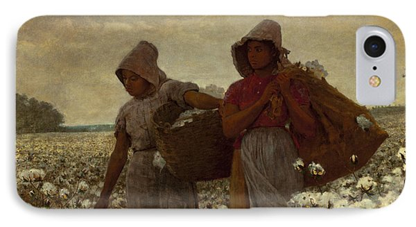 The Cotton Pickers Phone Case by Winslow Homer