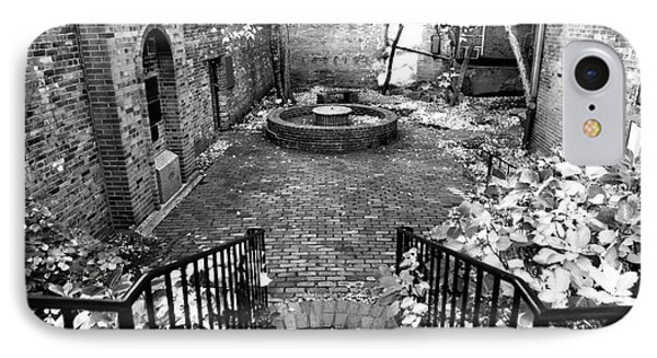 The Courtyard At The Old North Church Phone Case by John Rizzuto