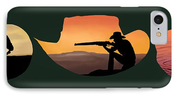 The Cowboy Way Phone Case by Brien Miller
