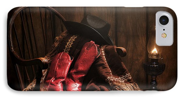 The Cowgirl Rest IPhone Case by Olivier Le Queinec