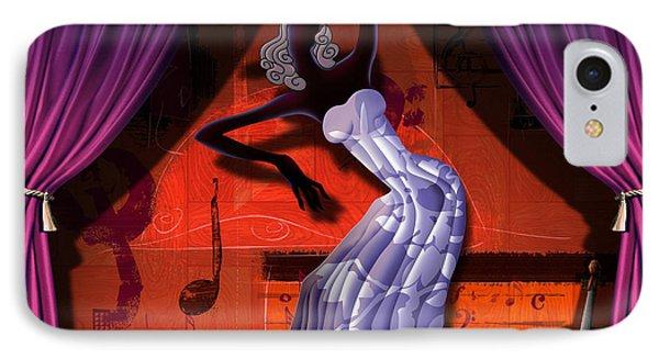 The Dancer V2 Phone Case by Bedros Awak
