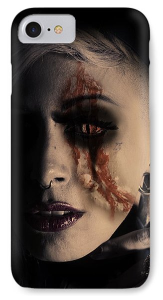 The Darkside Phone Case by Nathan Wright