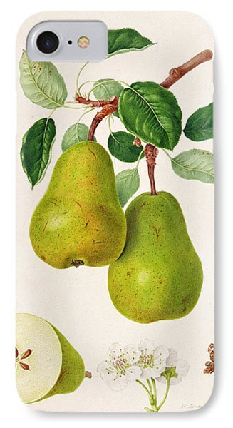 The D'auch Pear IPhone 7 Case by William Hooker