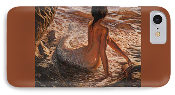 The Daughter Of The Sea Phone Case by Marco Busoni