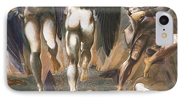 The Death Of Medusa II, 1882 IPhone Case by Sir Edward Coley Burne-Jones