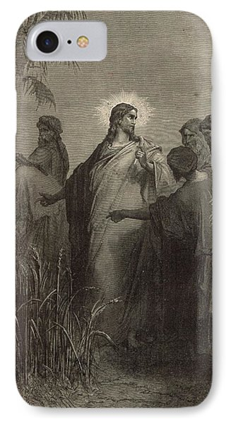The Disciples Plucking Corn On The Sabbath Phone Case by Antique Engravings