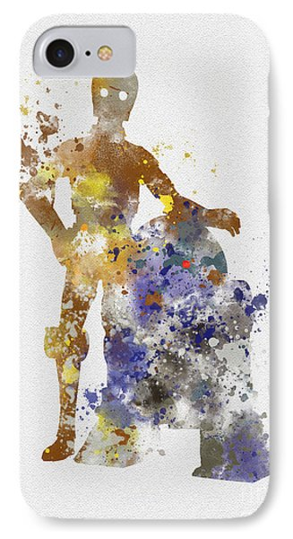 The Droids IPhone Case by Rebecca Jenkins
