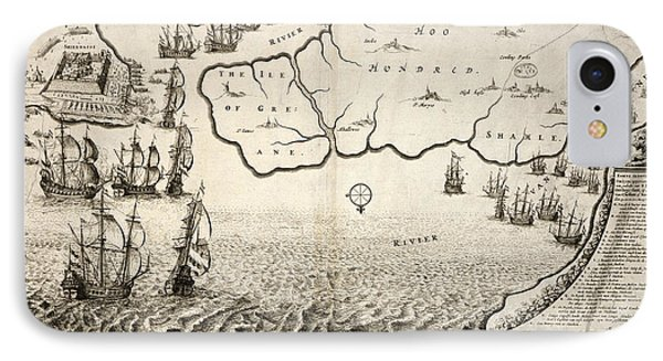 The Dutch Fleet IPhone Case by British Library