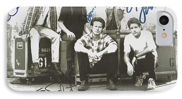 The Eagles Autographed IPhone Case by Desiderata Gallery