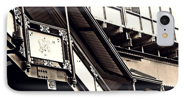 The Elevated Station At 125th Street 2 Phone Case by Sarah Loft