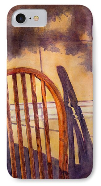 The Empty Chair Phone Case by Janet Felts