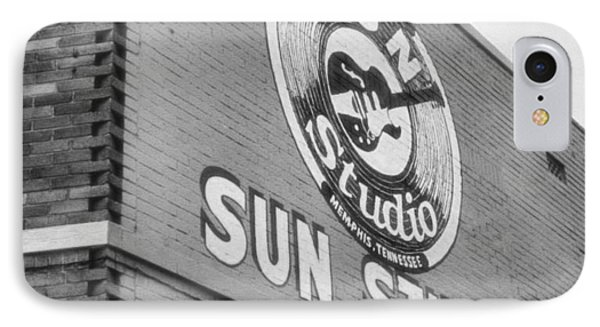 The Famous Sun Studio In Memphis Tennessee IPhone 7 Case by Dan Sproul