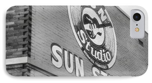 The Famous Sun Studio In Memphis Tennessee IPhone Case by Dan Sproul