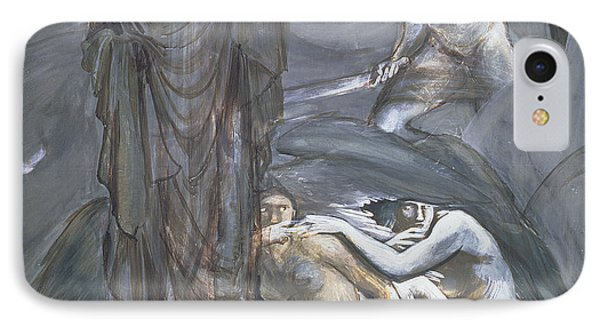 The Finding Of Medusa, C.1876 IPhone Case by Sir Edward Coley Burne-Jones