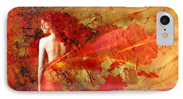 The Fire Within IPhone Case by Jacky Gerritsen