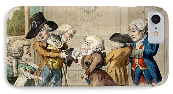 The First Approach, C.1790 Phone Case by Carlo Lasinio