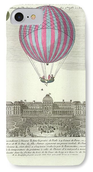 The First Ascent In A Hydrogen Gas Filled IPhone Case by British Library