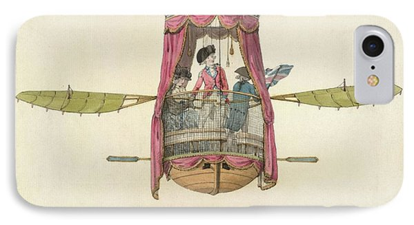 The First British Female Air Traveller IPhone Case by British Library