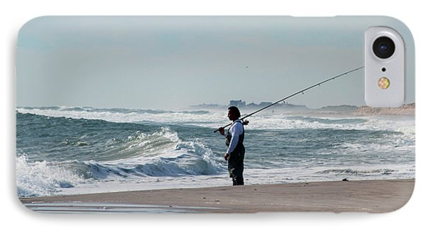 The Fisherman IPhone Case by Sean Conklin