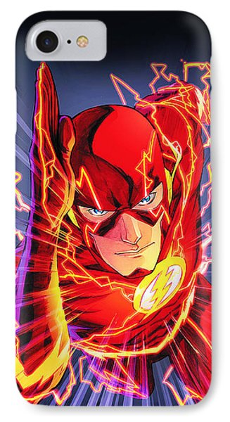 The Flash IPhone 7 Case by FHT Designs