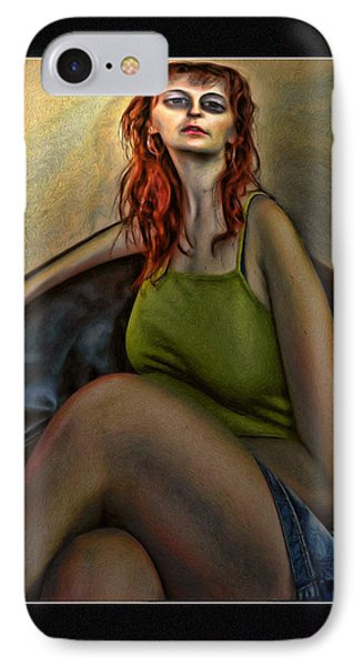 The Floozie Phone Case by Tyler Robbins