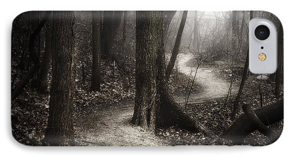 The Foggy Path IPhone Case by Scott Norris