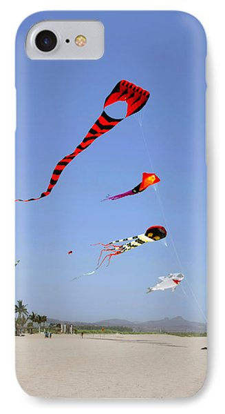 The Forgotten Joy Of Soaring Kites IPhone Case by Christine Till
