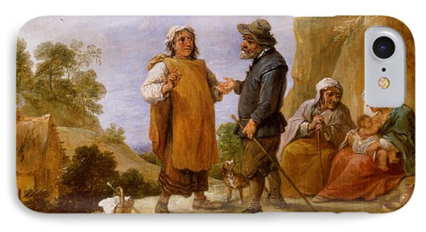 The Fortune Teller IPhone Case by David the Younger Teniers