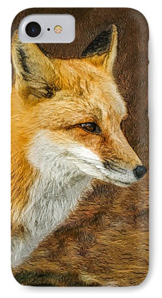 The Fox 5 IPhone Case by Ernie Echols