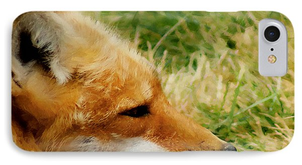 The Fox 7 IPhone Case by Ernie Echols