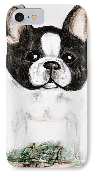 The Frenchton Phone Case by Maria Urso