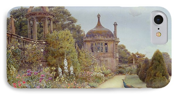 The Gardens At Montacute In Somerset IPhone 7 Case by Ernest Arthur Rowe