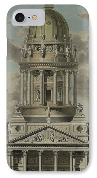 The German Cathedral On The Gendarmenmarkt IPhone Case by GF Kluge