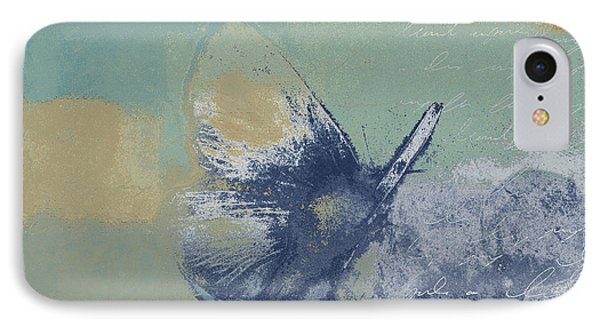 The Giant Butterfly And The Moon - J216094206-c09a Phone Case by Variance Collections