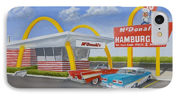 The Golden Age Of The Golden Arches IPhone Case by Jerry McElroy