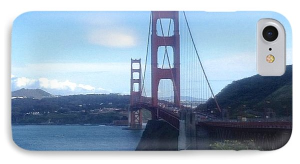 The Golden Gate Bridge IPhone Case by Christy Gendalia