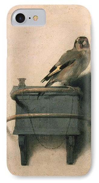 The Goldfinch IPhone 7 Case by Carel Fabritius