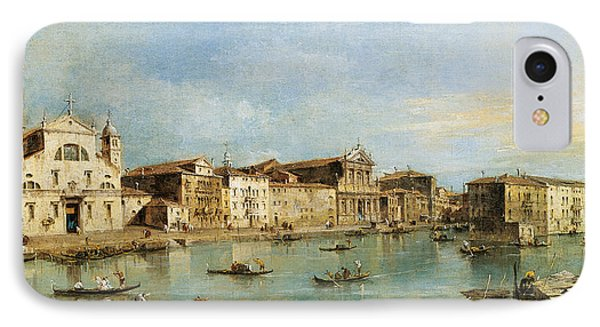 The Grand Canal IPhone Case by Francesco Guardi