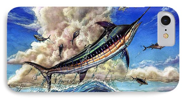The Grand Challenge  Marlin IPhone Case by Terry Fox
