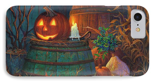 The Great Pumpkin IPhone 7 Case by Michael Humphries