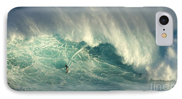 Surfing The Green Zone IPhone Case by Bob Christopher