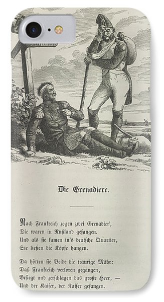 The Grenadier IPhone Case by British Library