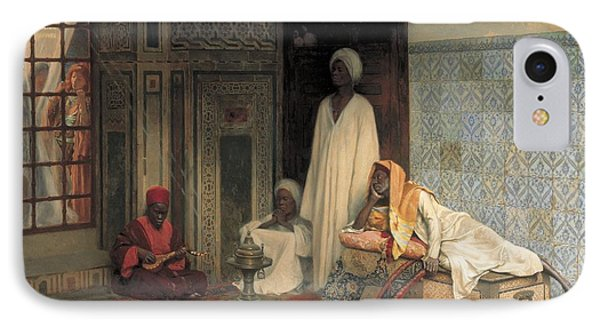 The Guards Of The Harem  IPhone Case by Ludwig Deutsch
