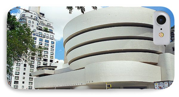 The Guggenheim Phone Case by Allen Beatty